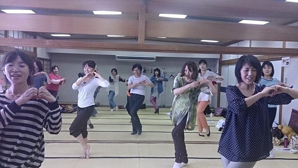 親子ダンス