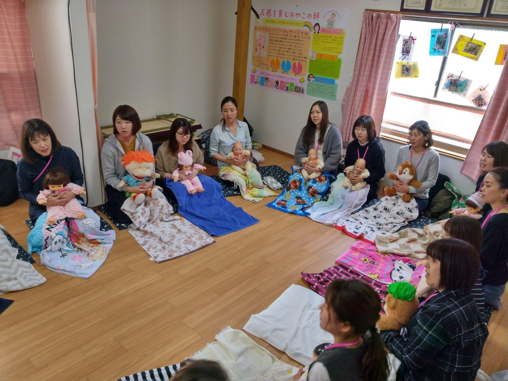 大阪わらべうたベビーマッサージ資格講習会