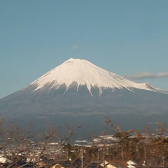 今日の富士山、今日は東京です