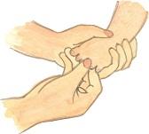 ベビーマッサージ足の指のマッサージです